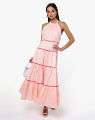 India Dress - Solid Blush