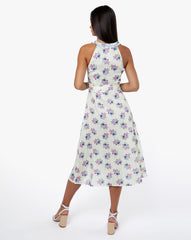 Katrine Dress - Rose Blue