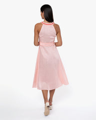Katrine Dress - Solid Pink