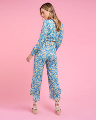 Piper Pant - Pansy Blue