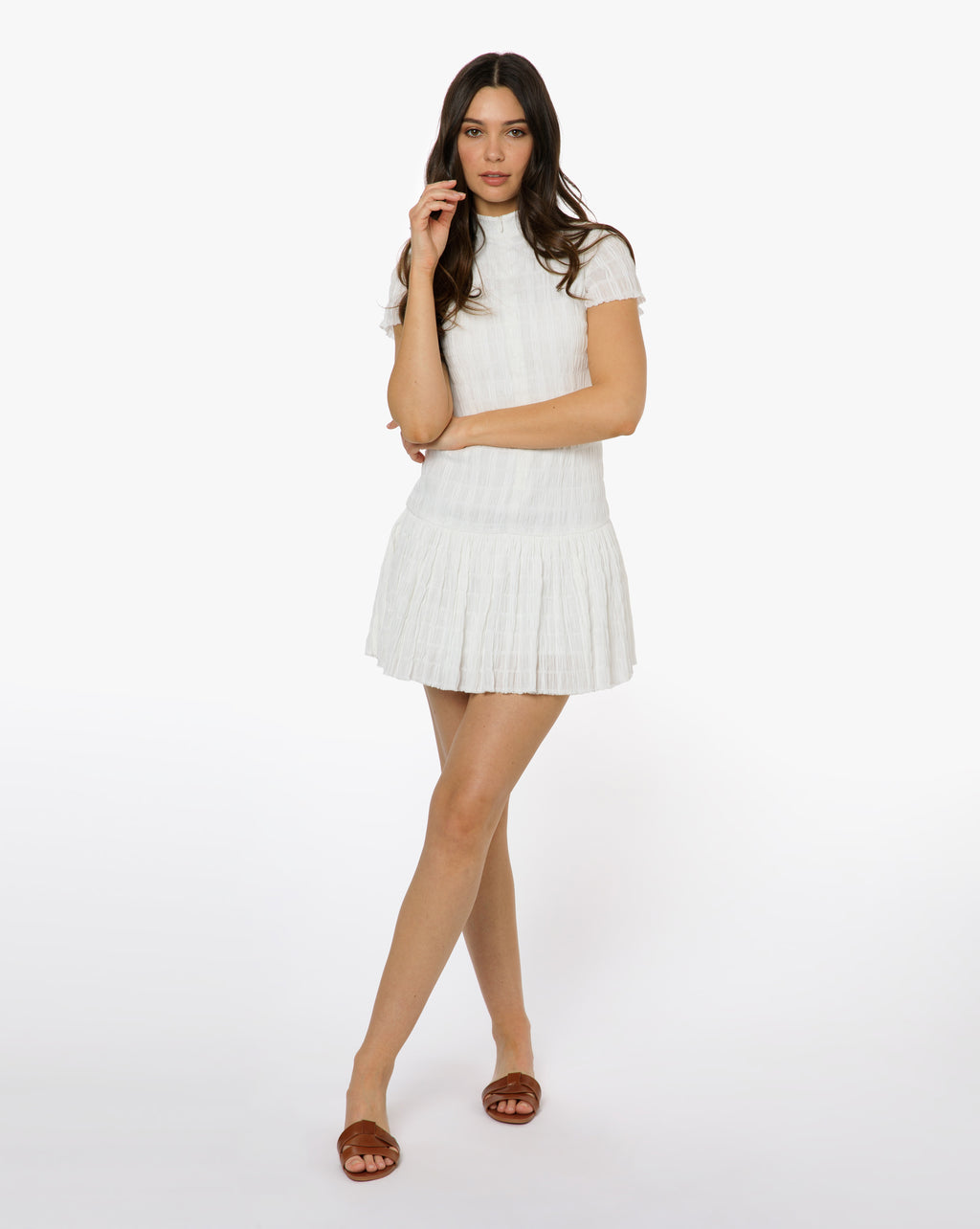 Lily Dress - Solid White