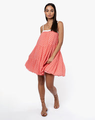 Matilda Dress - Crystal Rouge
