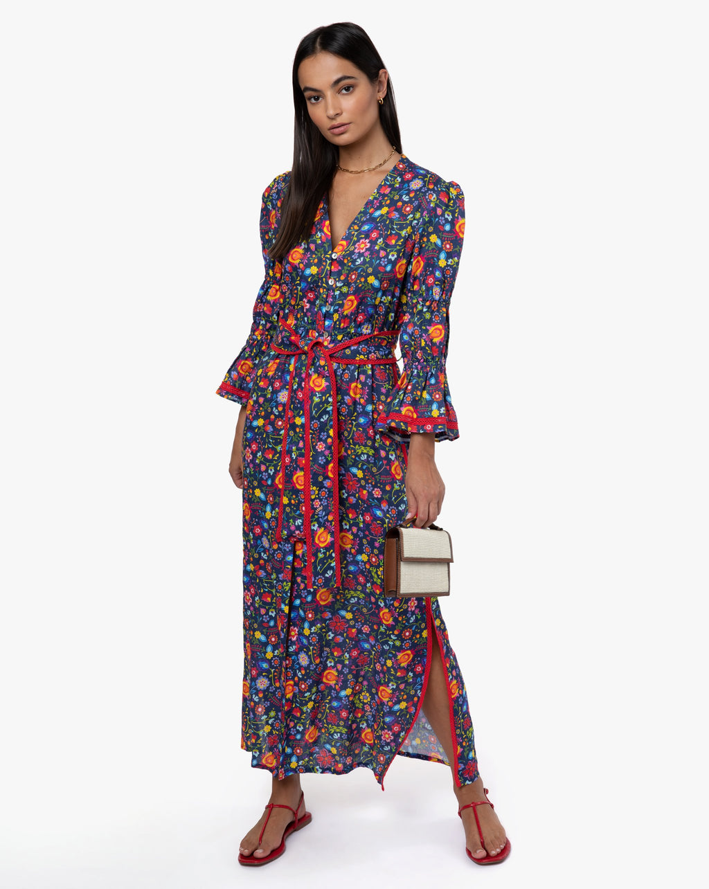 Meredith Dress - Boho Navy