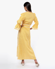 Meredith Dress - Crystal Gold