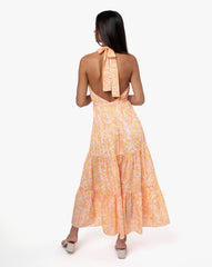 Octavia Dress - Sunflower Blush