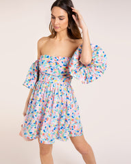 Hannah Dress - Rainbow Multi