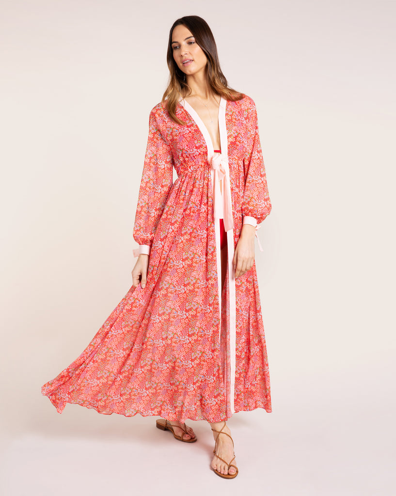 Jasmine Cover Up - Bloom Red