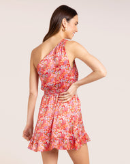 Uma Dress - Bloom Red