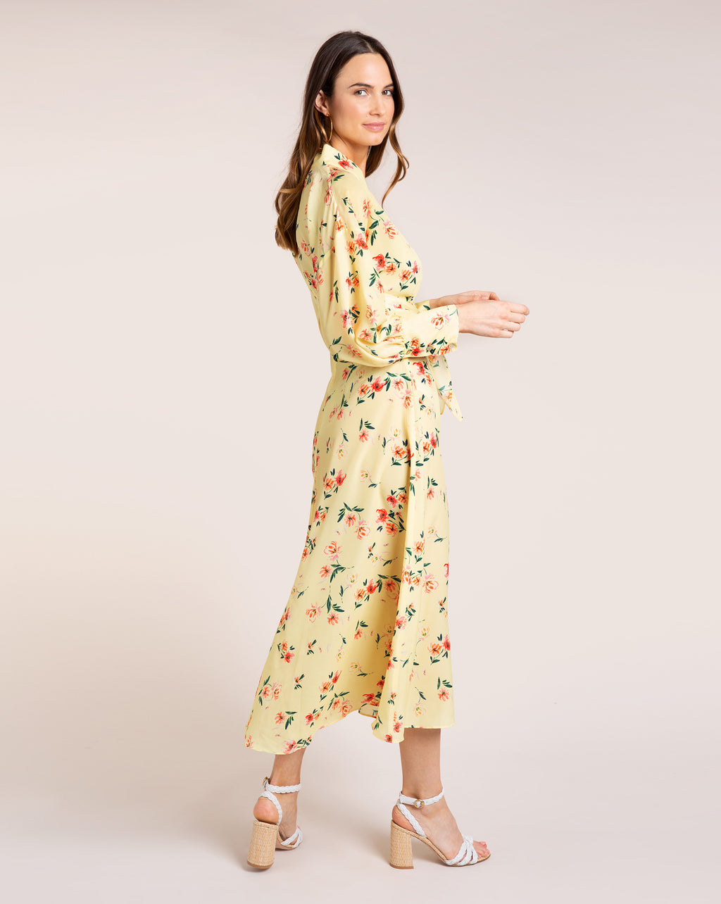 Bronte Dress - Fleur Yellow