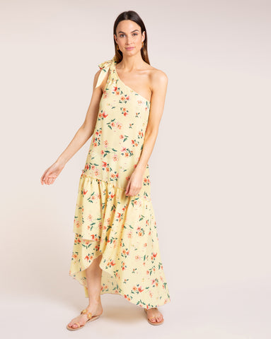 Giselle Dress - Fleur Yellow