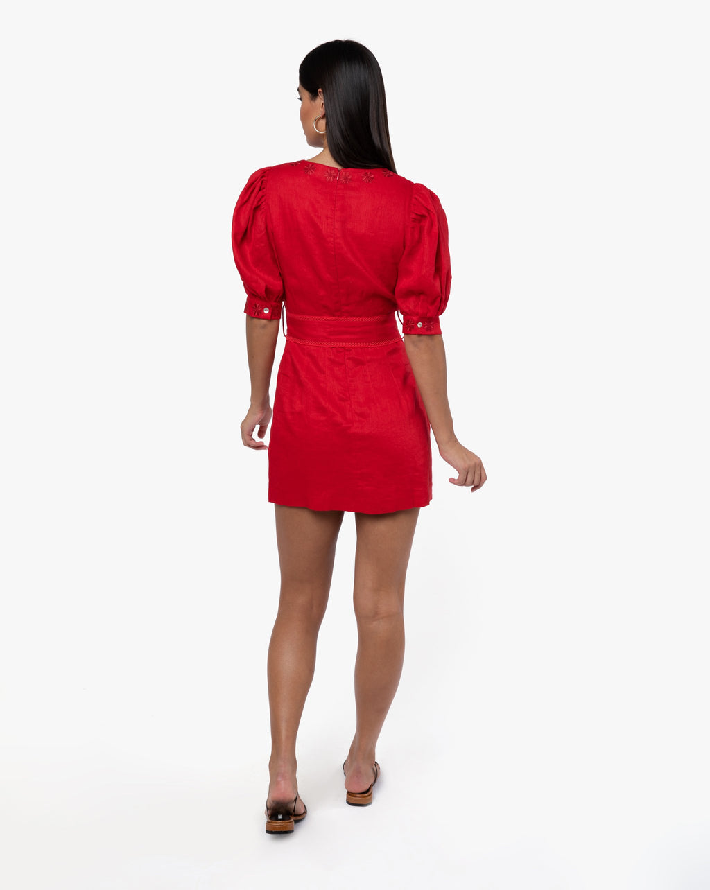 Pearl Dress - Solid Rouge