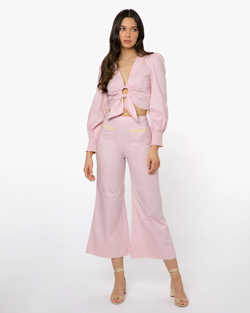 River Pant - Solid Pink