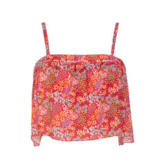 Silva Top - Bloom Red