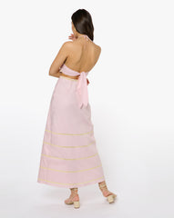 Violet Dress - Solid Pink