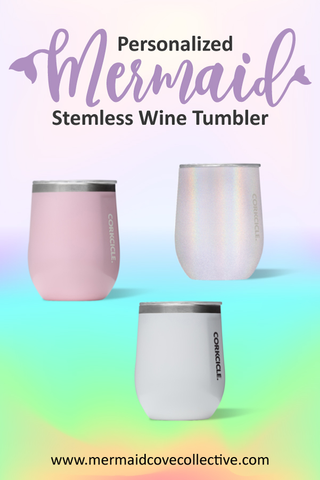personalized stemless wine glass corkcicle