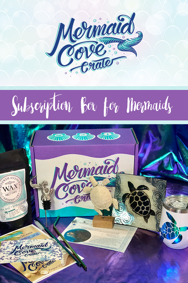 Mermaid Cove Crate Subscription Box for Mermaids
