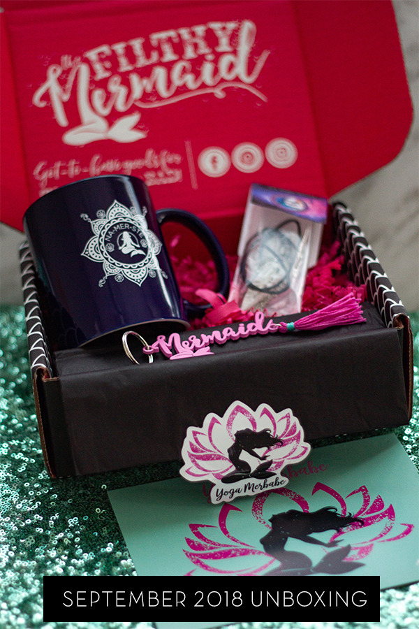 The Filthy Mermaid Subscription Box Yoga Merbabe