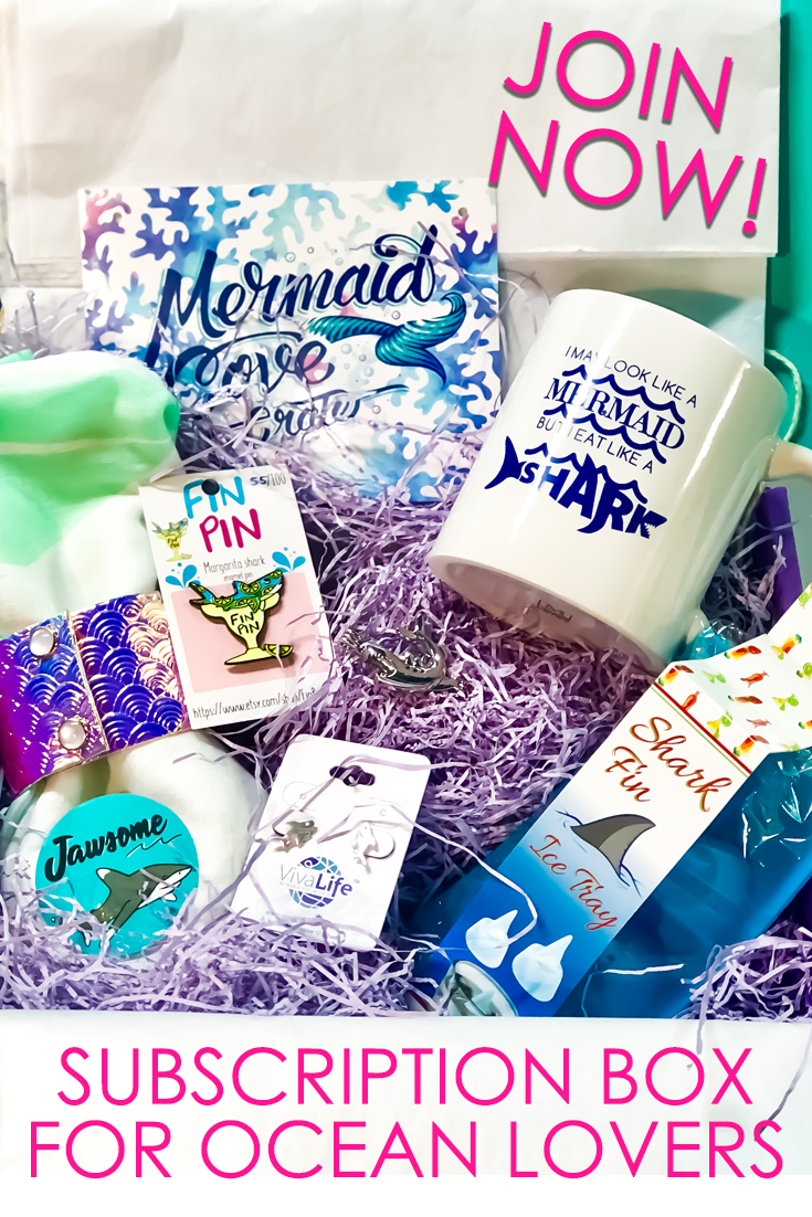 Mermaid Cove Crate Subscription Box for Ocean Lovers