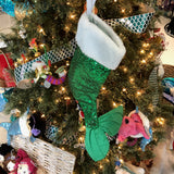 Sequin Mermaid Tail Stocking