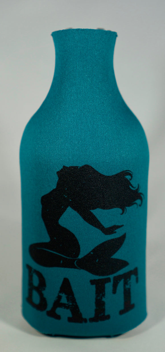 Bait Charmed Bottle Koozie by The Filthy Mermaid