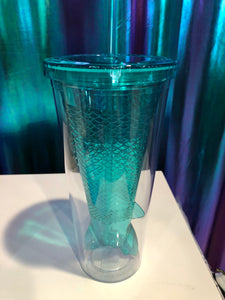 Mermaid Tail Tumbler