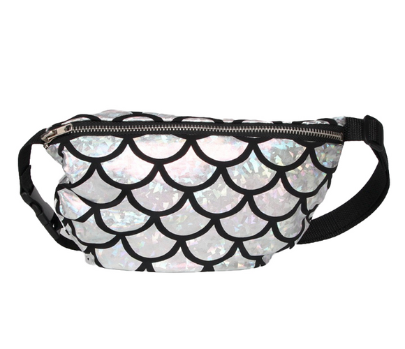 Shiny Mermaid Scale FannyPack