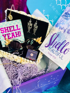 "Mermaid Cove Crate ""Shello Beautiful"" One Time Box"