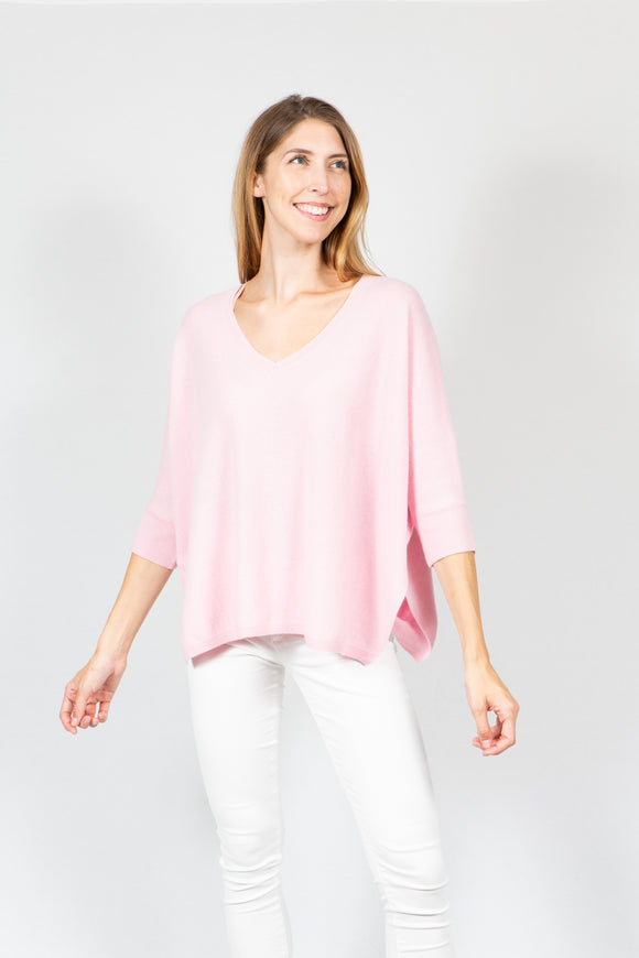 Lia V-Neck | Light Pink