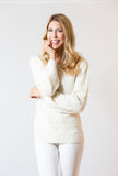 Blue Bell Sweater | Ivory