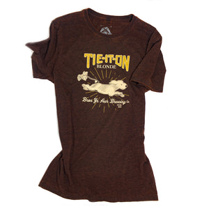 Tie-it-on Blonde Tee