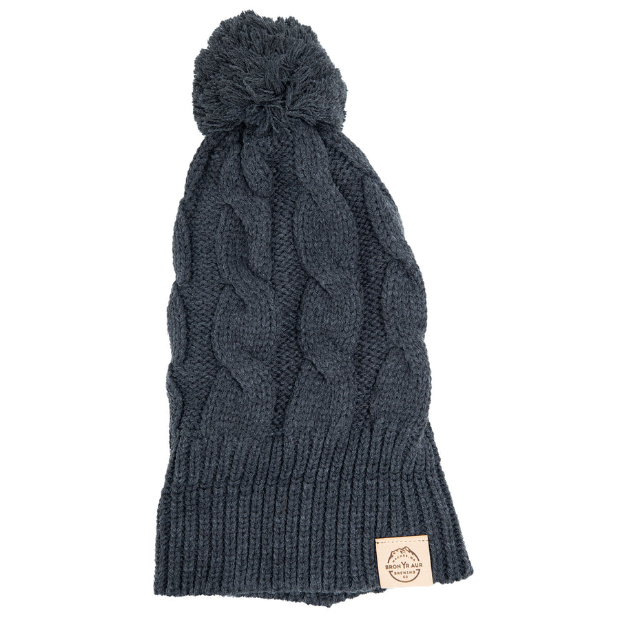 Chunky Knit Beanie - Charcoal