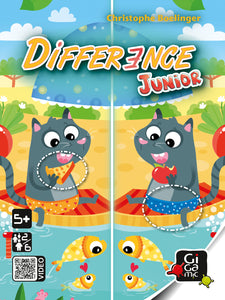 Juego de Mesa GIGAMIC Difference Junior