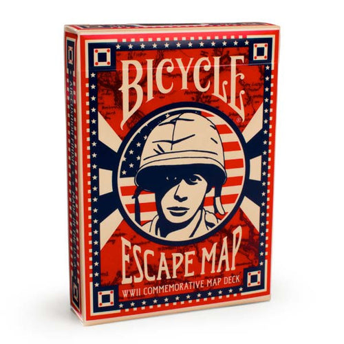 Naipe de Cartas Bicycle Escape Map