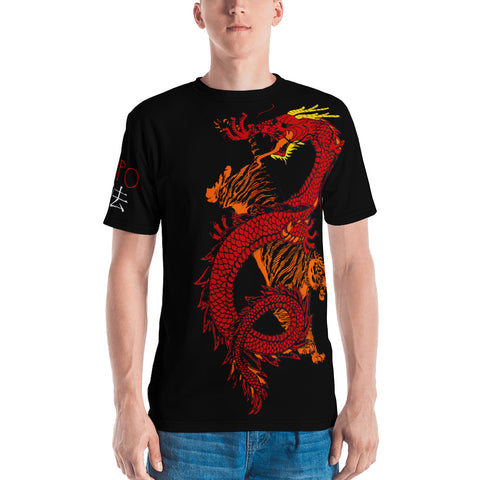 Kenpo Dragon Tiger Spirit All Over Shirt