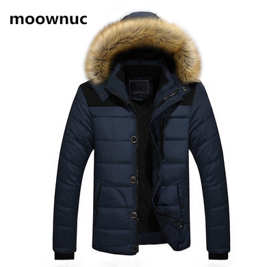 Men's fashion Cotton Padded Warm coat