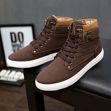 Mens Casual Style High Top Shoes