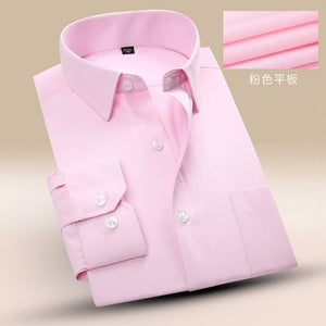 HEE GRAND Quality Man's Business Slim Fit Shirt
