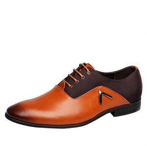 Men Dress Shoes High Quality Genuine Leather
