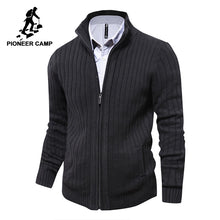 Pioneer Camp men sweaters knitted zipper cardigan