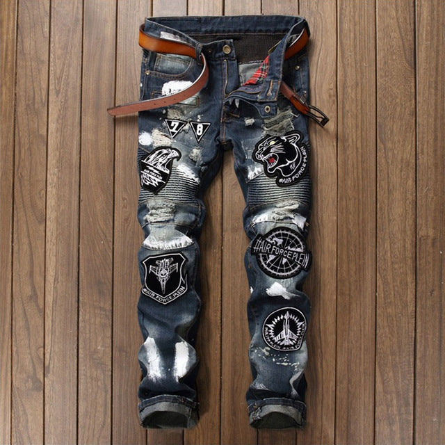Men's cotton fashion jeans