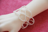 Pearly Looped Bead Bracelet