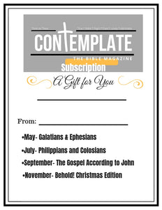 4-Issue Subscription (Begins with Galatians/Ephesians May 2019)