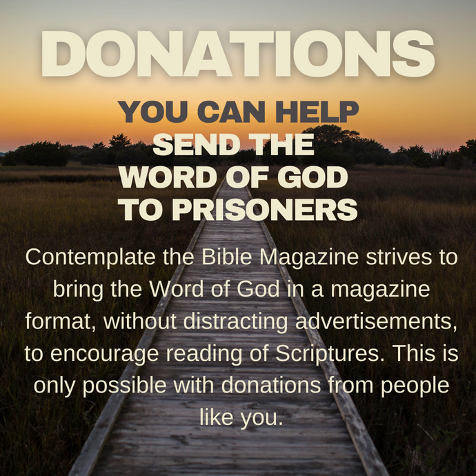 Donations: Contemplate for Prisoners