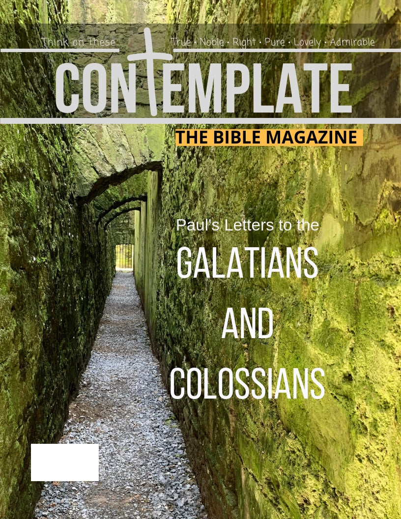 Issue #9: Galatians and Colossians