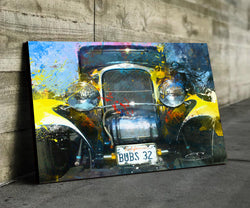 1932 Ford Hot Rod High Quality Automotive Canvas Art Perfection In Motion