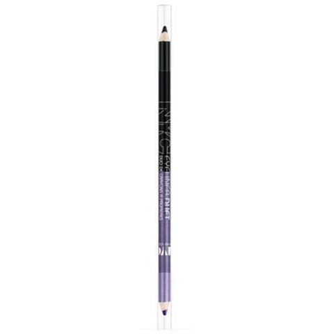NYC Eyeliner Duet Pencil, 886 Through The Storm, CHOOSE YOUR PACK, Eyeliner, Nyc, makeupdealsdirect-com, Pack of 1, Pack of 1