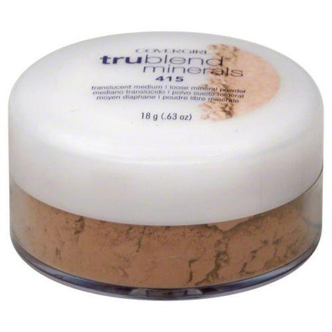 CoverGirl TrueBlend Minerals(Choose Your Shade), Mixed Makeup Lots, CoverGirl, makeupdealsdirect-com, 415 transluscent medium, 415 transluscent medium