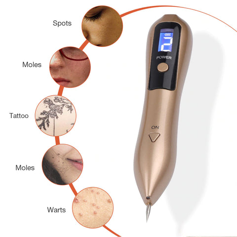 LED Lighting Laser Moles and Freckle Remover Pen