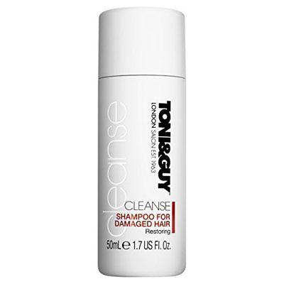 . Toni & Guy Shampoo 1.7 Oz Cleanse Damaged Hair, Medicated Hair Treatments, Toni & Guy  - MakeUpDealsDirect.com