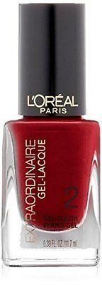 L'Oreal Extraordinaire Gel-Lacquer Nail Color, Hot Couture,(Pack Of 2), Gel Nails, L'Oréal, makeupdealsdirect-com, [variant_title], [option1]
